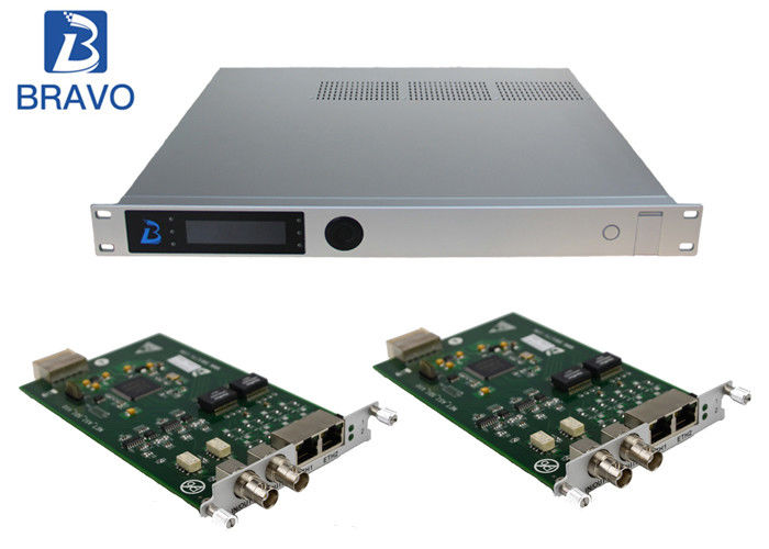 Multichannel H264 / H265 SD HD Encoder , SD Offline HD Channel Modulator